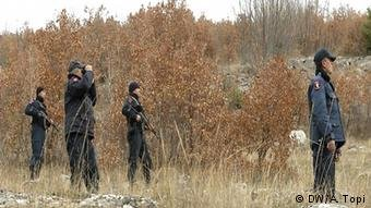 الحدود بين ألبانيا واليونان/أرشيف