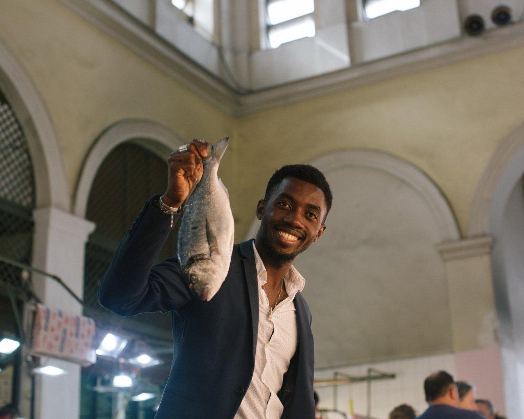 Moussa espère ouvrir le premier restaurant sénégalais d'Athènes   Photo: IRC / Elena Heatherwick