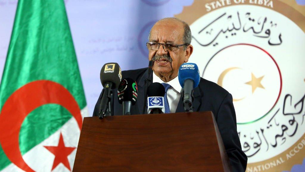 أ ف ب (أرشيف) |وزير الخارجية الجزائري عبد القادر مساهل.