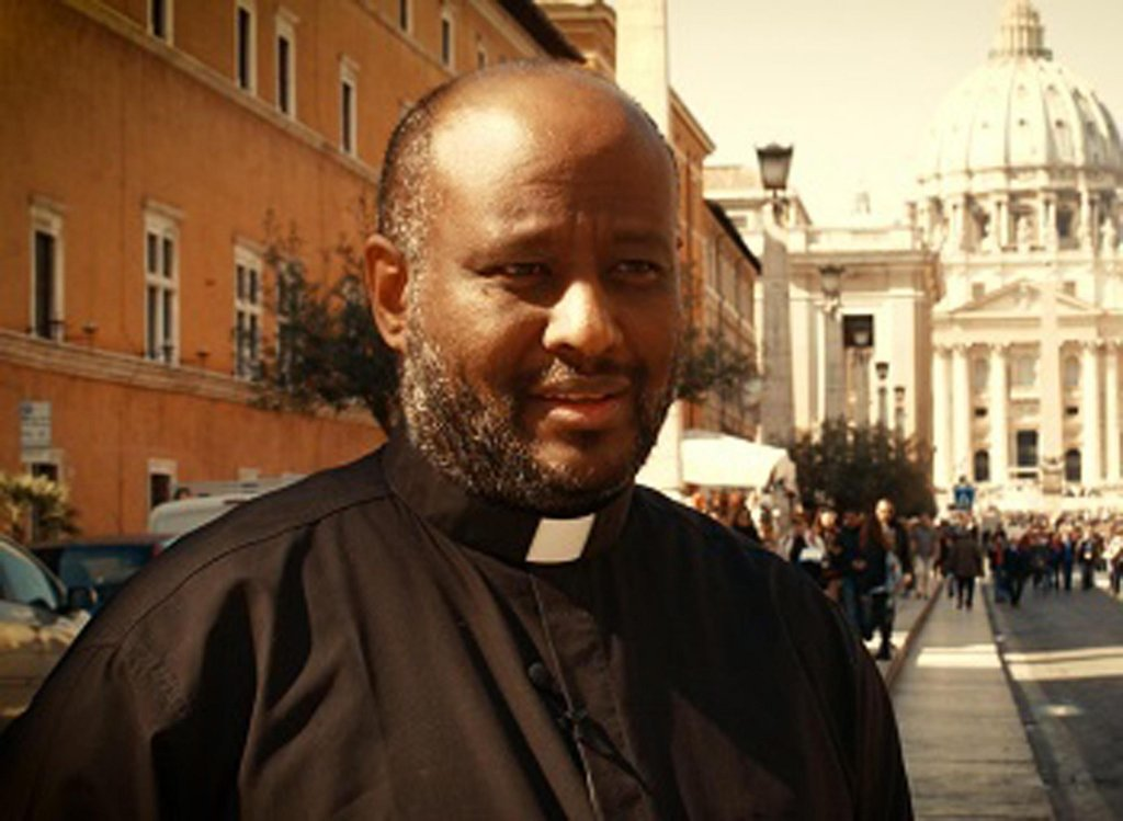 Father Mussie Zerai, humanitarian aid worker focusing on migrant rights and head of the Habeshia agency | Photo: ANSA/ UFFICIO STAMPA HABESHIA