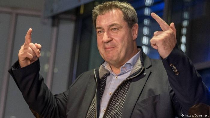 Imago/Overstreet |ماركوس زودر، رئيس حكومة ولاية بافاريا.