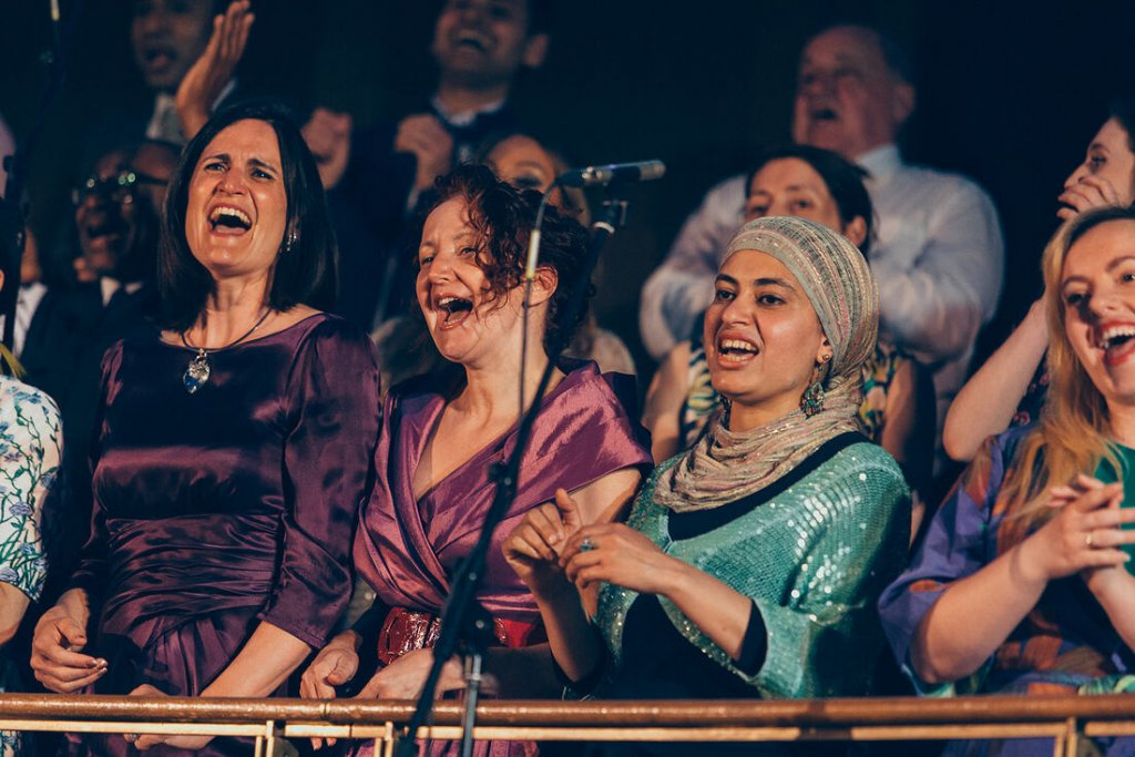 The choir members raise their voices to share a message of unity and peaceful coexistence | Copyright: Citizens of the World Choir