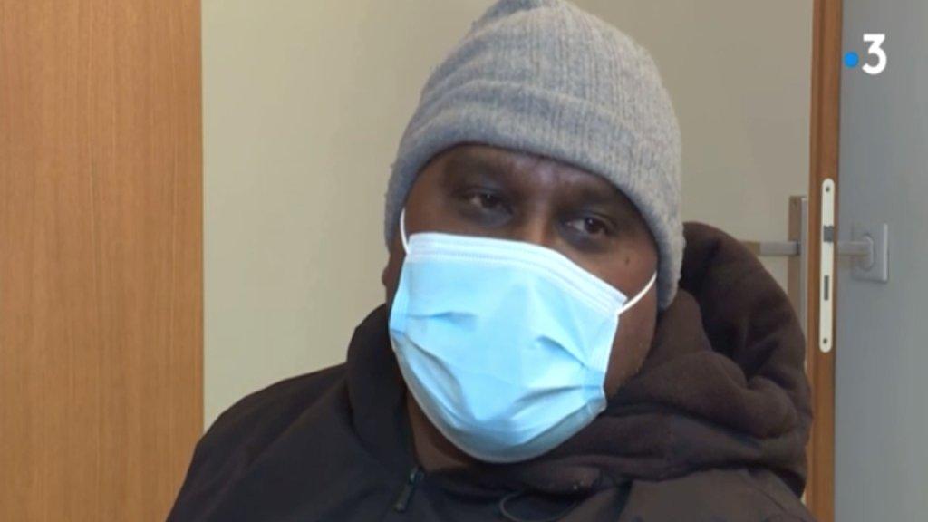 """Surnommé """"Sheel"""" ce Bangladais est le premier en France à avoir obtenu un titre de séjour pour étranger malade sur des critères environnementaux. Crédit : capture France 3 Midi-Pyrénées"""