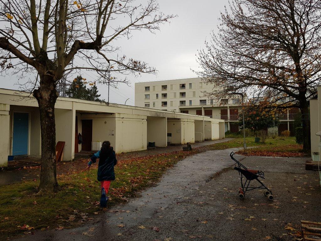 Des logements occupés par des migrants près de Bordeaux. Crédit : InfoMigrants
