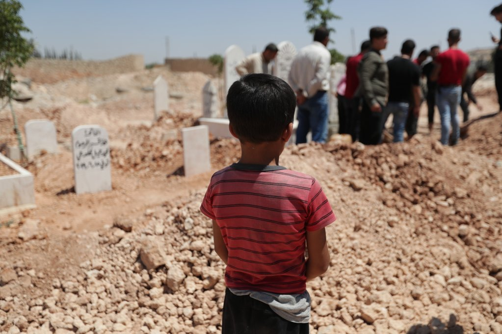 The number of child suicides has dramatically increased in North West Syria. Photo: Save the Children