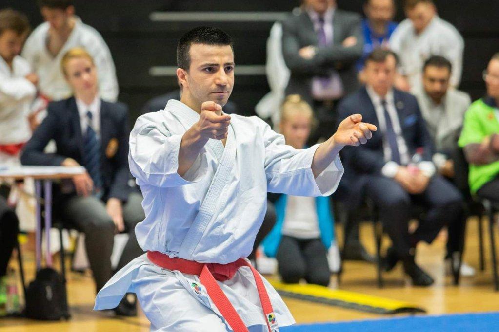وائل شعيب، شاب سوري، عضو فريق اللاجئين المؤهلين للمنافسات بأولمبيات طوكيو