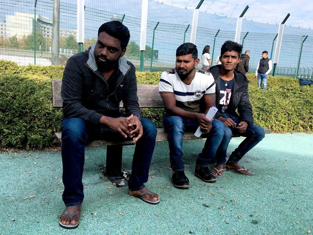 ثلاثة أشخاص من سيرلانكا رفضت طلبات لجوئهم/ مهاجر نيوز
