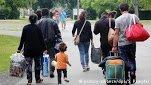 صورة رمزية لوصول اللاجئين إلى أوروبا