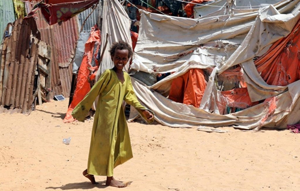 A displaced child in a camp in northern Somalia | Photo: UNHCR