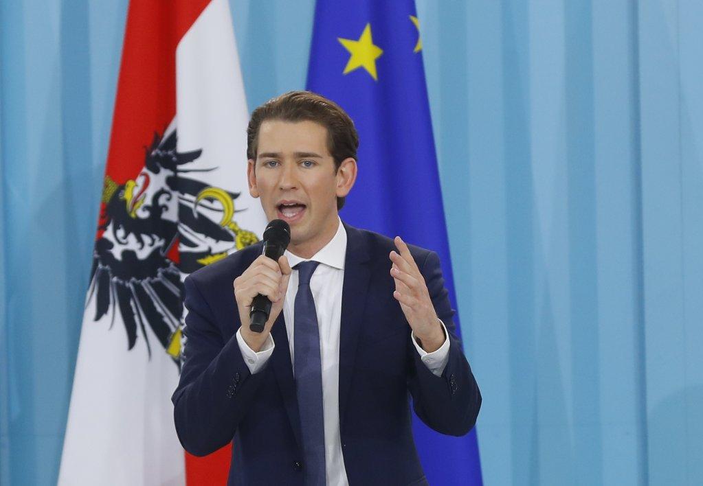 المستشار النمساوي سيبستيان كورتس
