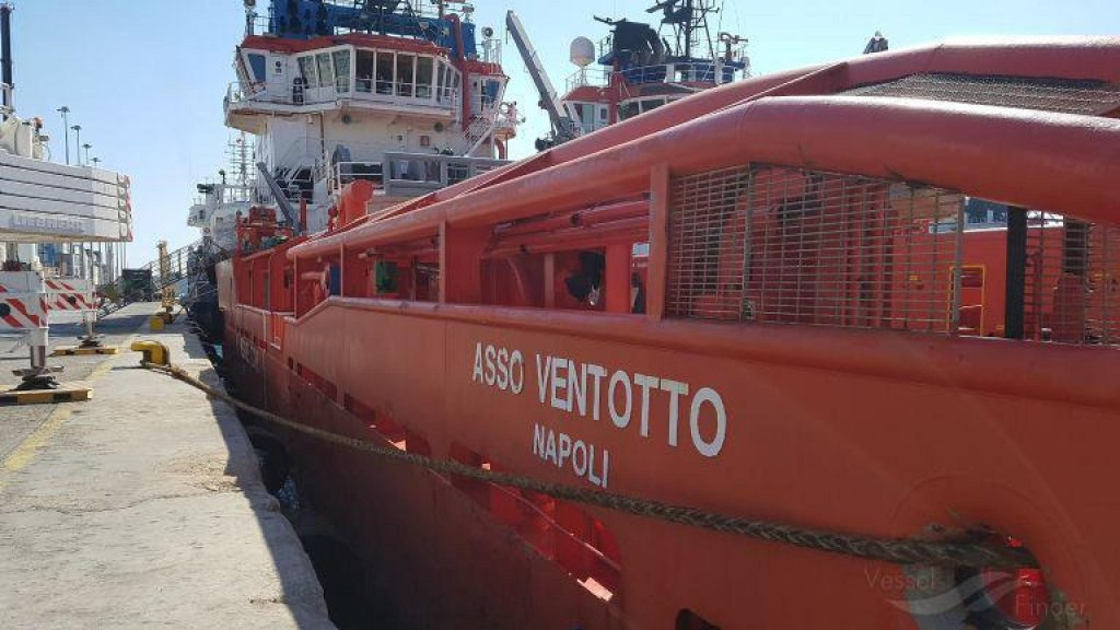 The captain of the Asso 28 was sentenced for handing over migrants to the Libyan coast guard | Photo: ANSA/Vesselfinder.com