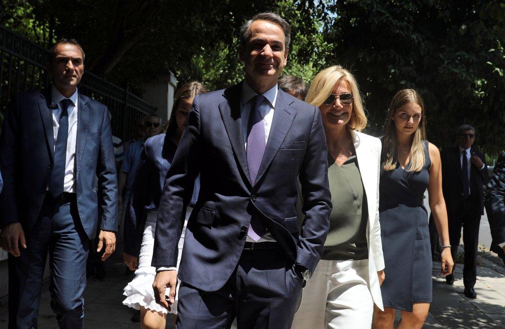 کیریاکوس میتسوتاکیس، نخست وزیر یونان : رویترز/کوستاس بالکاس
