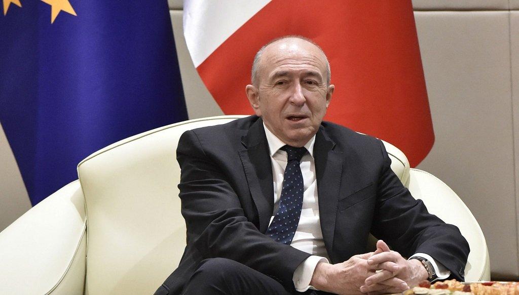 """وزير الداخلية الفرنسي جيرار كولومب، صاحب مشروع """"قانون الهجرة واللجوء"""" الجديد. أرشيف"""