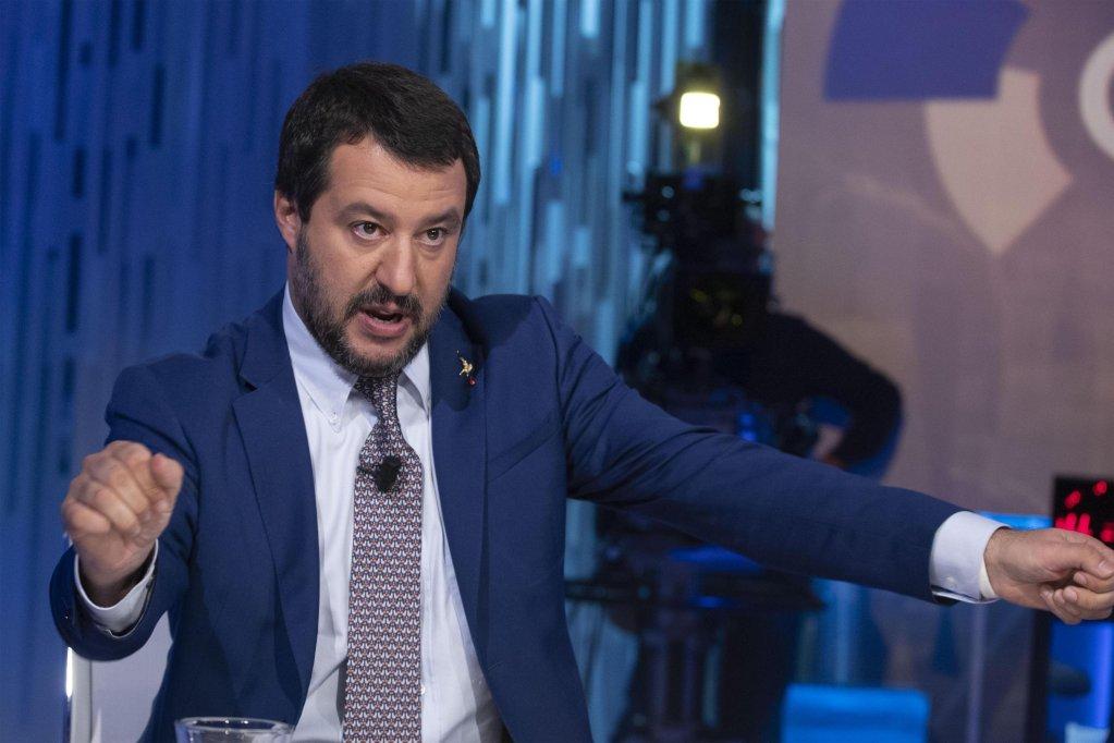 Italian Interior Minister Matteo Salvini | Credit: ANSA
