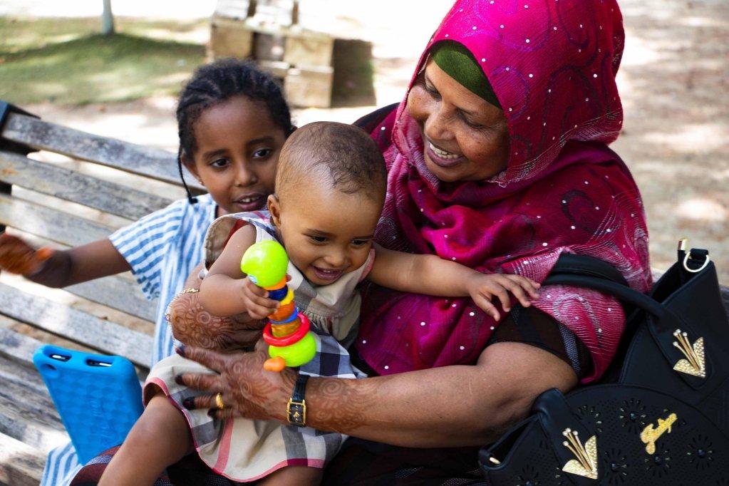 ANSA / لاورا.. رضيعة صومالية يتيمة ولدت في إيطاليا وتلحق بأسرتها / مصدر الصورة: الصليب الأحمر الإيطالي.