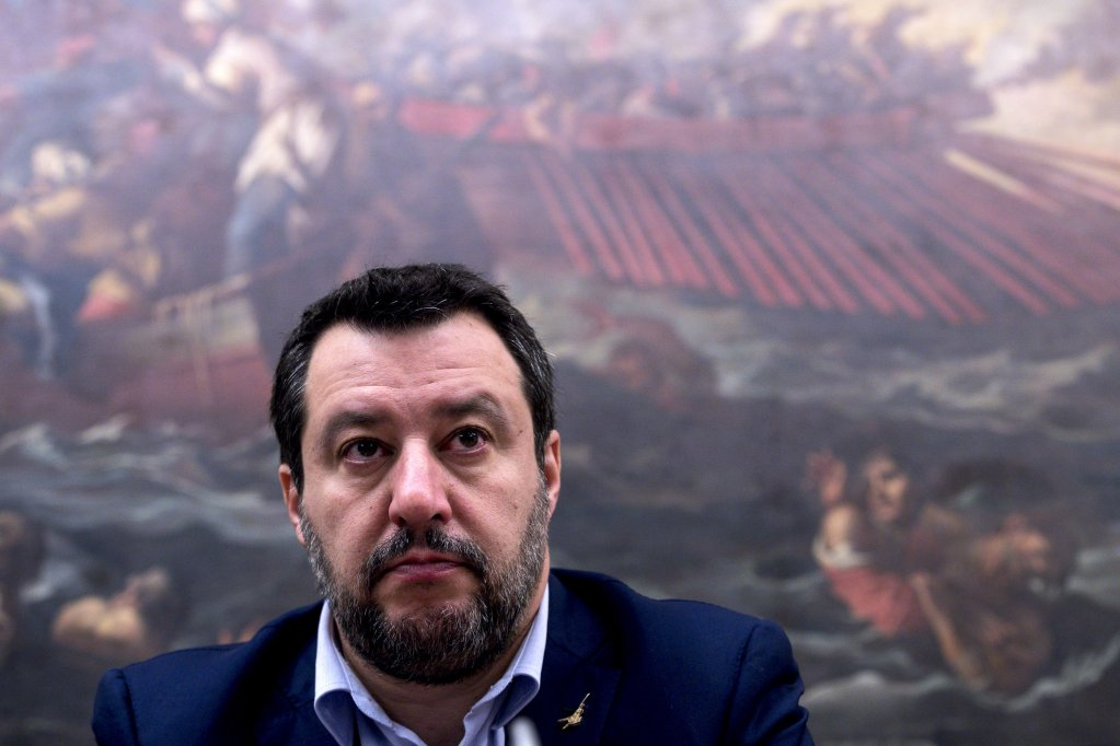 Matteo Salvini, leader of the far-right League party and former Italian interior minister | Photo: ANSA/Angelo Carconi