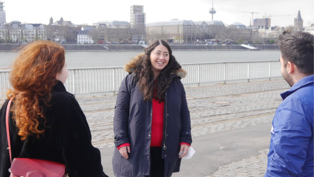 سناء عبدي، ألمانية من أصول مغربية