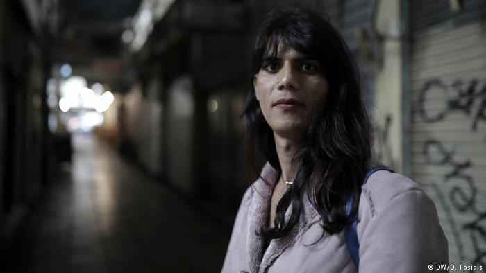 Natasha, a Transgender woman in Greece