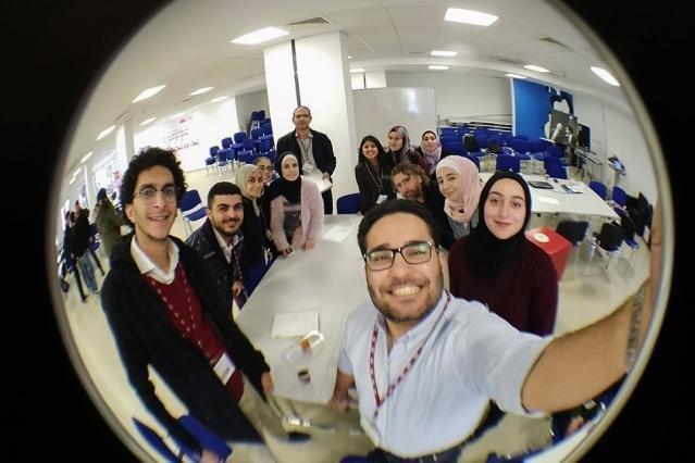 Members of the initial ReACT-class in Amman (Credit: Lauren Benner, MIT)