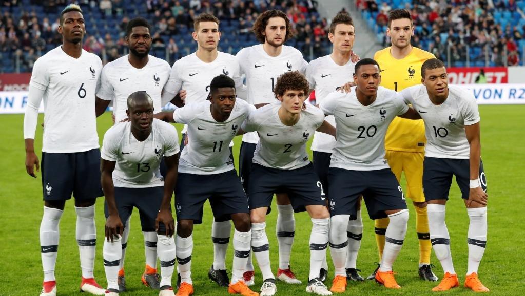 المنتخب الفرنسي/ رويترز