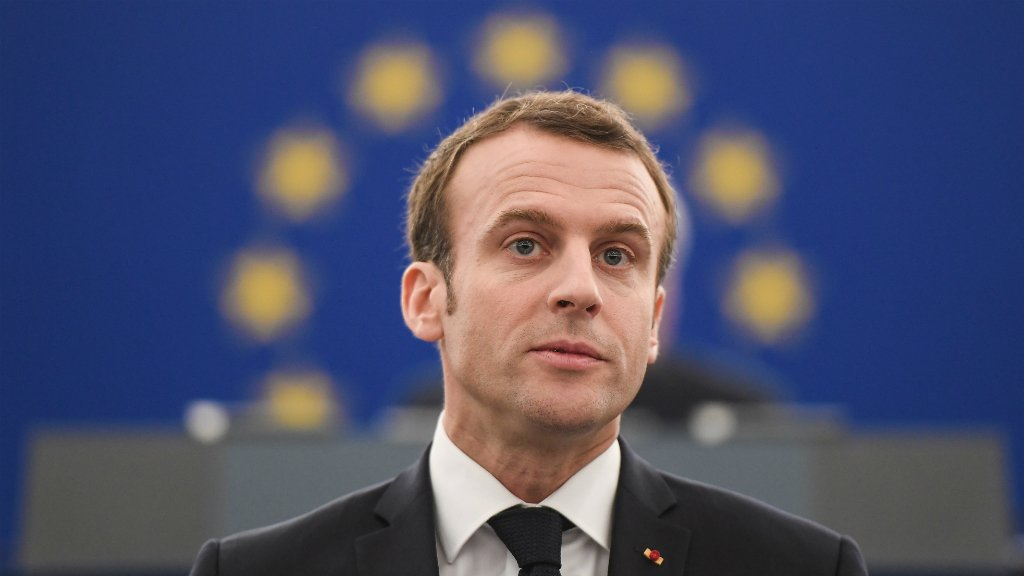 """Macron said there was a """"poisoned debate"""" in Europe over the relocation of refugees"""
