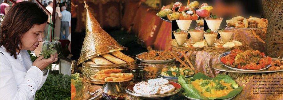 Fatema Hal, ethnologue, auteure et chef marocaine, a créé son restaurant de gastronomie marocaine, le Mansouria, à Paris en 1984.