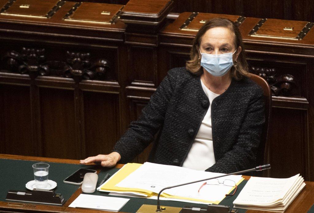 Italy's Interior Minister Luciana Lamorgese | Photo: ANSA/Claudio Peri