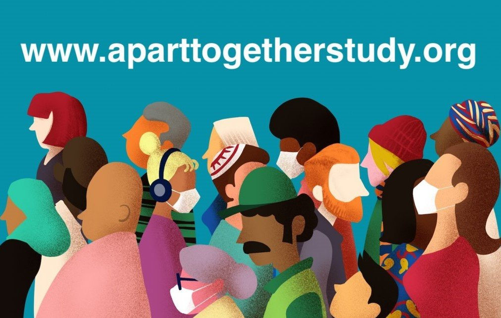 The Apart Together survey runs until 31 May 2020 | Credit: aparttogetherstudy.org