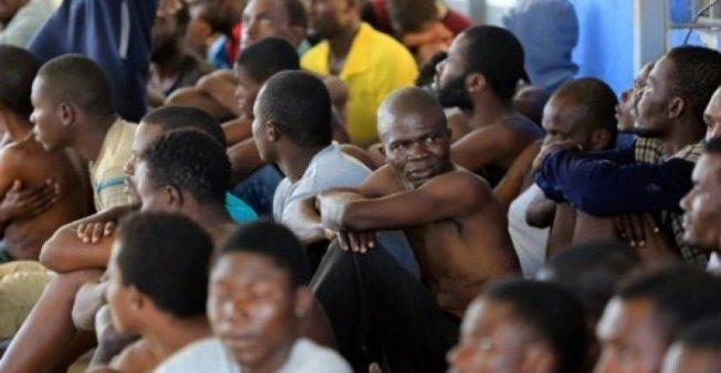 مهاجرون أفارقة في ليبيا. أرشيف