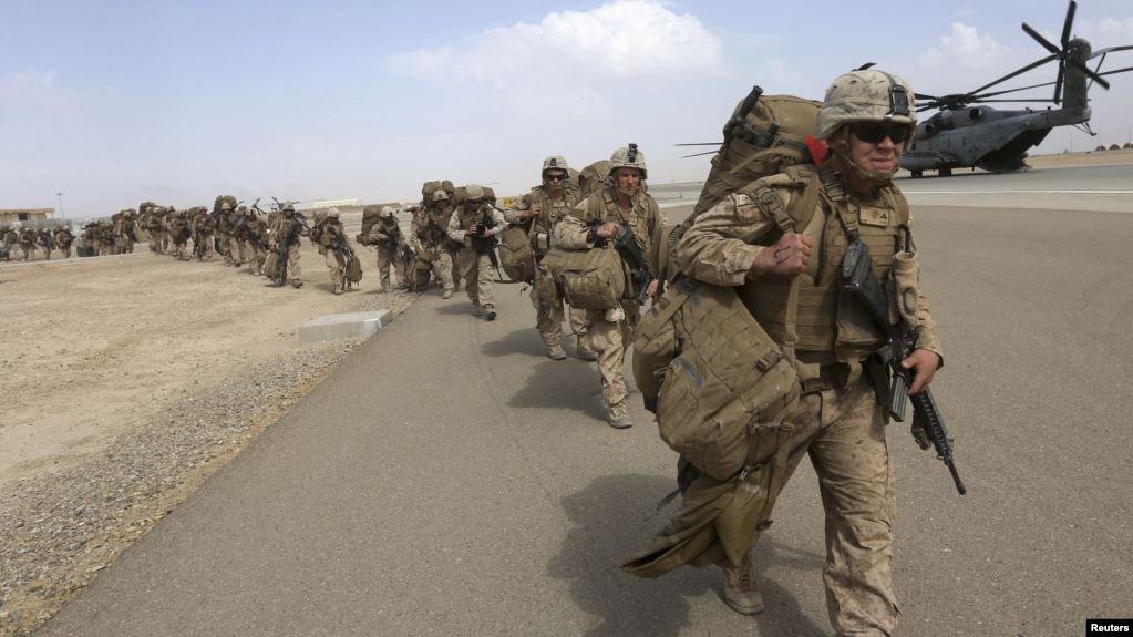 نیروهای بریتانیایی در ولایت هلمند افغانستان. عکس از رویترز