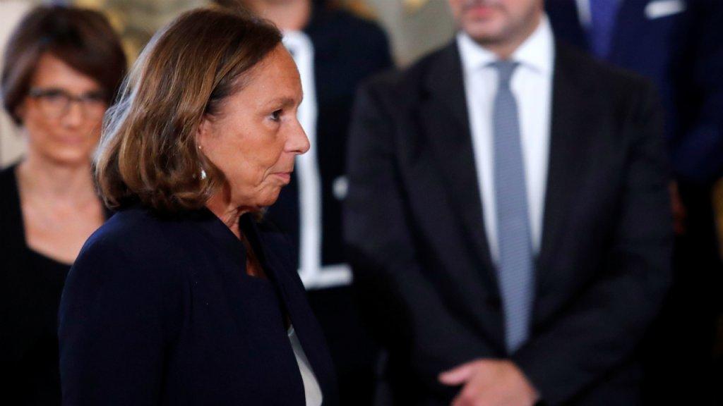 La ministre italienne de l'Intérieur, Luciana Lamorgese, lors de la cérémonie d'assermentation du nouveau gouvernement au palais présidentiel Quirinale à Rome, le 5 septembre 2019. Crédit : Reuters