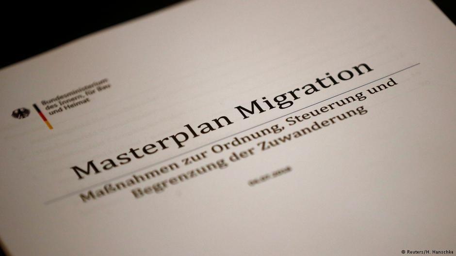 ماستر پلان مهاجرت دولت فدرال آلمان