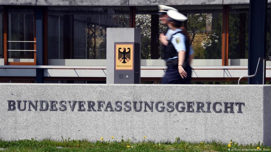 محکمه قانون اساسی آلمان در شهر کارلسروهه