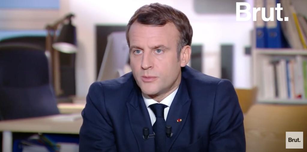 Le président français Emmanuel Macron a répondu pendant plus de deux heures aux questions du média Brut.