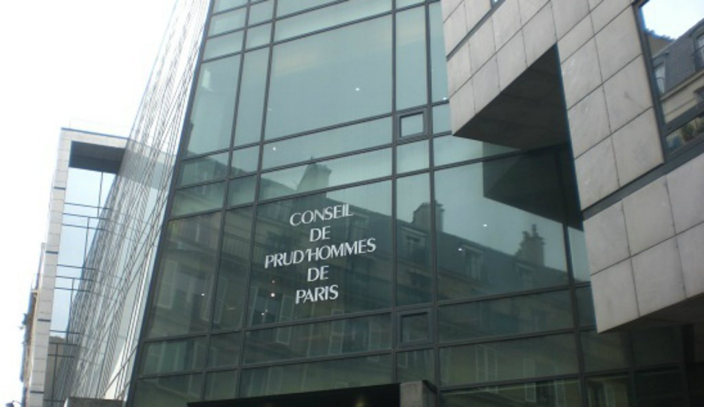 "A picture of the building for the employment tribunal ""Le Conseil de Prud'Hommes de Paris"" 