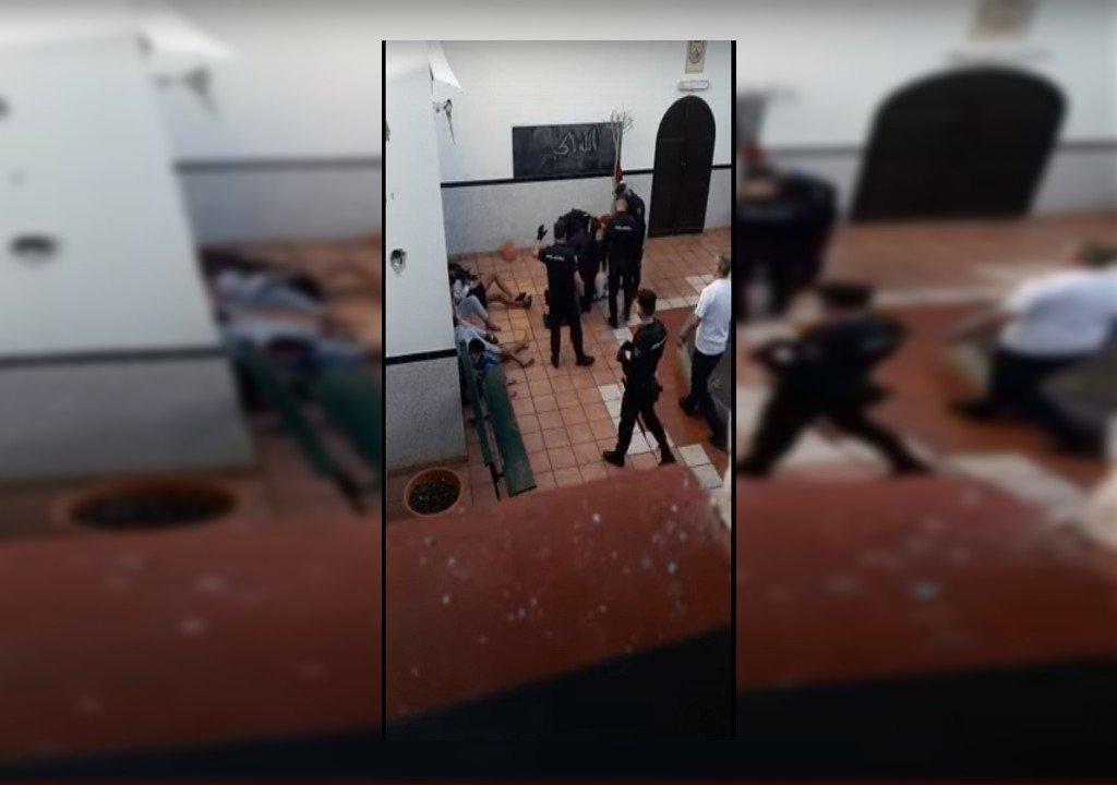 صورة ملتقطة من الفيديو
