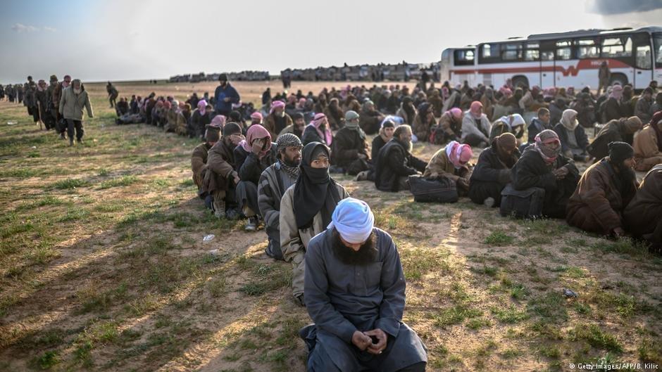 در حال حاضر حدود ۷۰ اسلام گرا در شمال سوریه، عراق، ترکیه و یونان زندانی هستند.