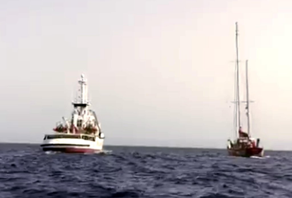 The vessel Open Arms of the Spanish NGO Proactiva Open Arms. CREDIT: OPEN ARMS