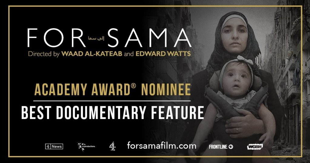 "L'affiche du film ""For Sama"" de Waad Al Kateab et Edward Watts. Crédit : Action for Sama"