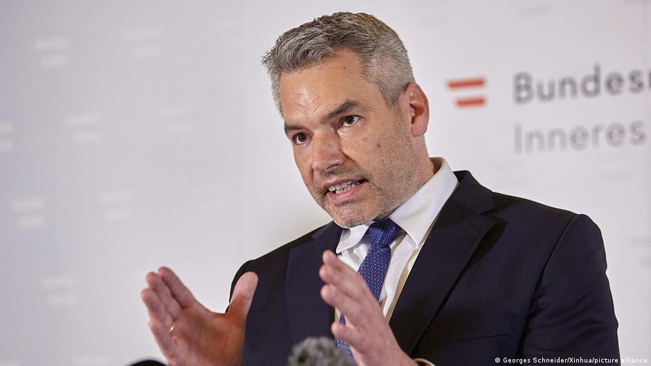 کارل نـیهامر، وزیر امور داخله اتریش (آگست ۲۰۲۱)