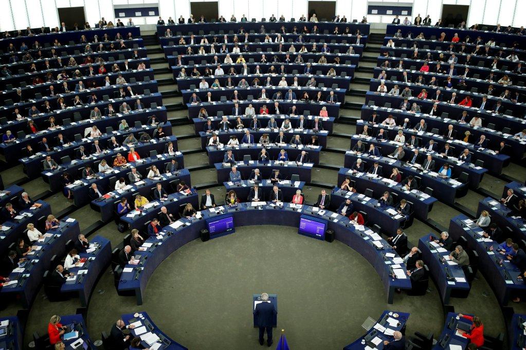 Reuters/Christian Hartmann |Le Parlement européen de Strasbourg lors de l'élocution du président de la commission européen Jean-Claude Juncker.