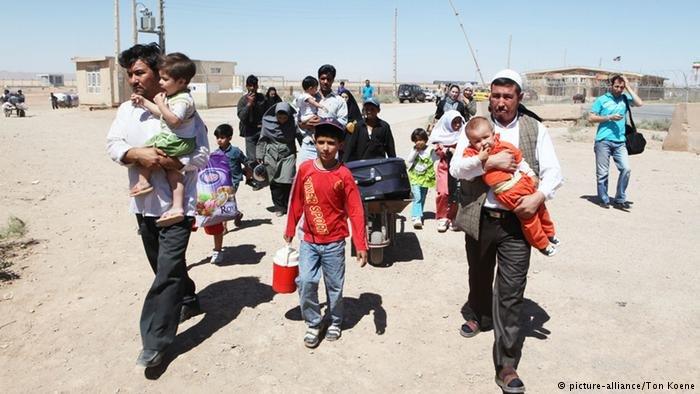 عکس از آرشیف: مهاجران افغان در ایران/عکس: Picture Alliance/Ton Koene