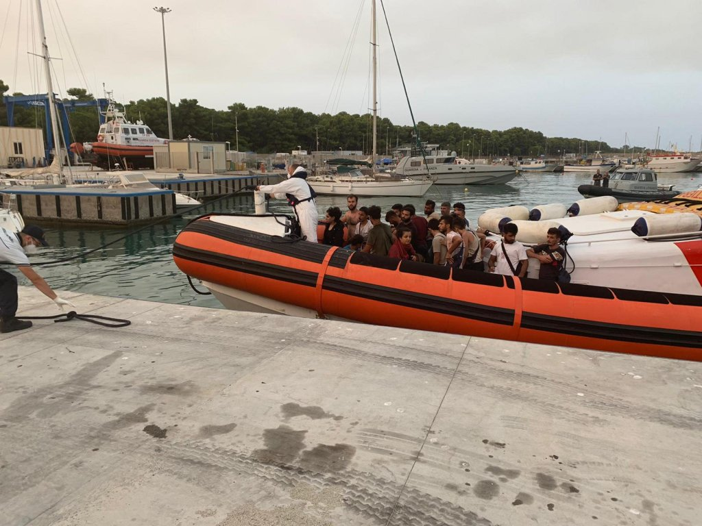 From file: Migrants landing in Roccella Ionica | Photo: ARCHIVE/ANSA/ANTONELLO LUPIS