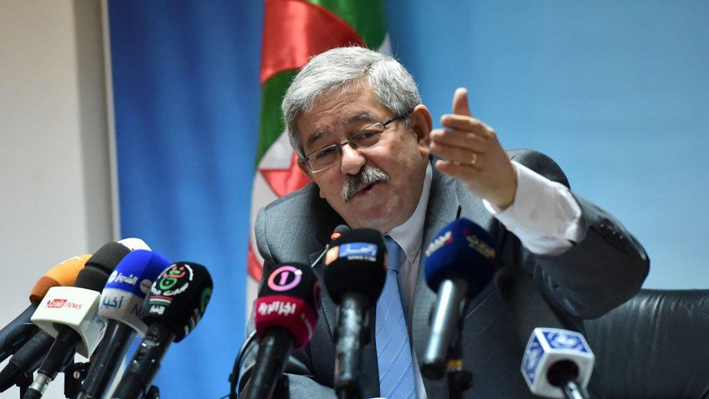 أحمد أويحي مدير ديوان الرئيس الجزائري ( أ ف ب)