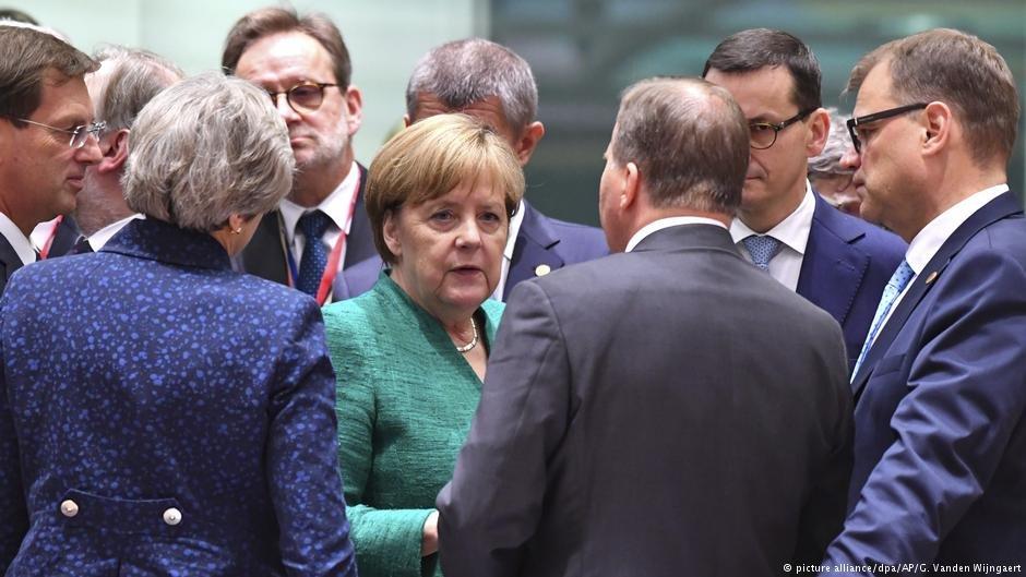 عکس از دویچه وله/ رهبران اتحادیه اروپا روی سیاست مهاجرت به توافق رسیدند.