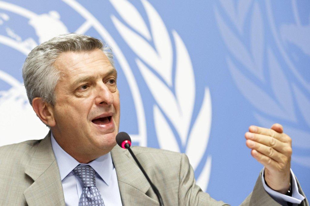 فيليبو غراندي المفوض السامي للأمم المتحدة لشؤون اللاجئين/أنسا