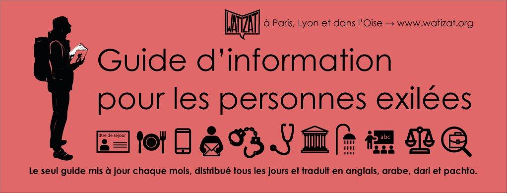 واتیزات: رهنمای اطلاعاتی برای مهاجران در فرانسه. عکس: سازمان واتیزات