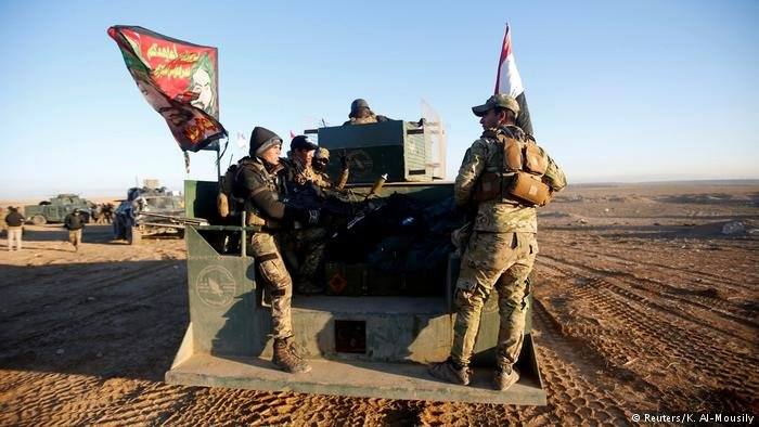 Irak Anti-IS-Offensive in West-Mossul (Reuters/K. Al-Mousily)