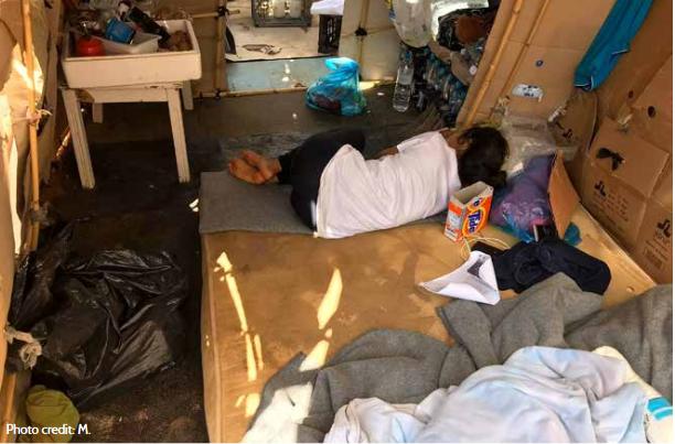 نسيت وسائل الإعلام جزرا مثل كوس وليروس إلى حد كبير ، على الرغم من أن سكان المخيمات هناك يعيشون أيضا في ظروف صعبة