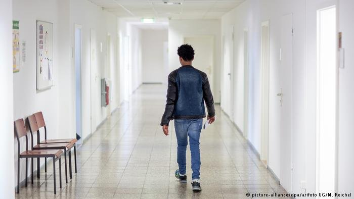Eritrean Refugee at a BAMF office in Germany